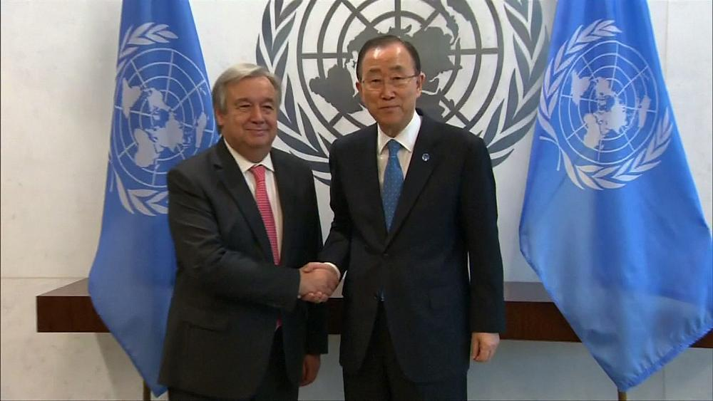 The in-tray which awaits Antonio Guterres the new Secretary-General of the United Nations