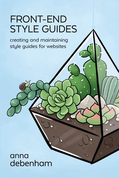 Just published the updated version of my book, Front-end Style Guides!