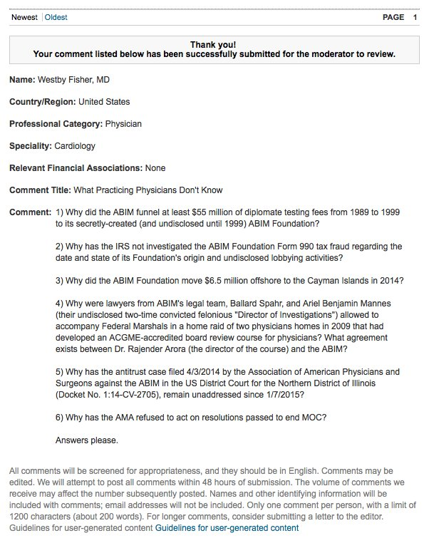 My comment as filed today with the NEJM Baron/Braddock article (in case it fails to see the light of day): https://t.co/poQDpTQbkr