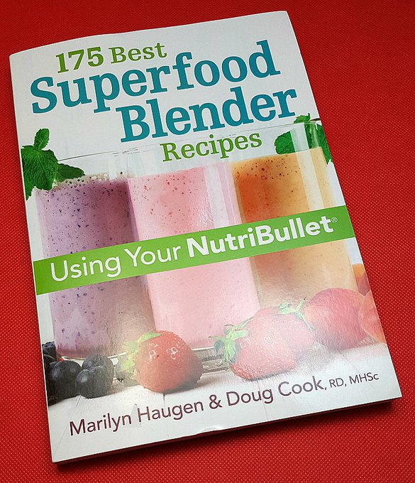 Giveaway – 175 Best Superfood Blender Recipes Cookbook – Ends 1/22/17