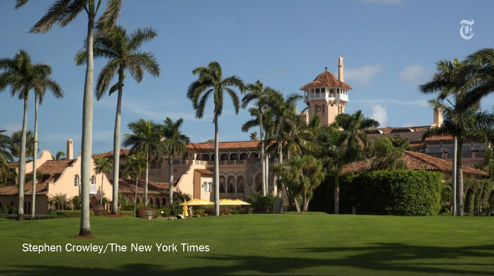 Mar-a-Lago: The 45th president's winter White House and home of the calmer Donald Trump