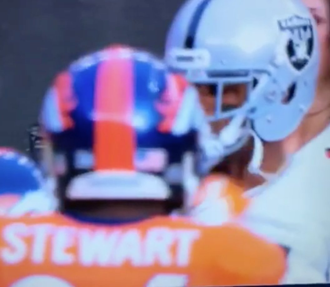 The disrespect is real.  Aqib Talib rips Michael Crabtree's chain off after play  ��: https://t.co/65bbOce2FA https://t.co/LhoiTyZyRP