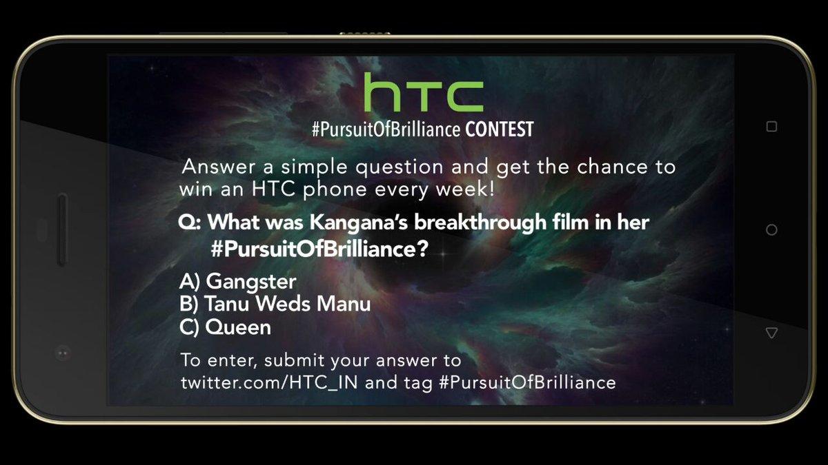HTC #PursuitOfBrilliance contest is live now @MissMalini @Vh1India #Vh1InsideAccess #HTCDesire10Pro https://t.co/ws2Fsz9uQn