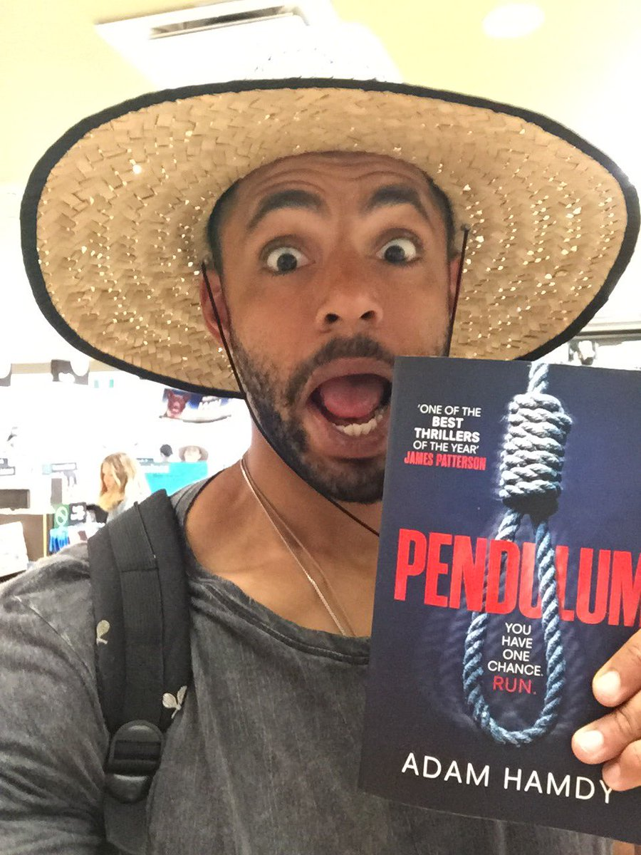 That feeling when you're in the airport in Sydney and find your boy @adamhamdy book on the new releases shelf! https://t.co/44y29f6T6O