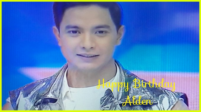 Happy Birthday Alden Richards!!