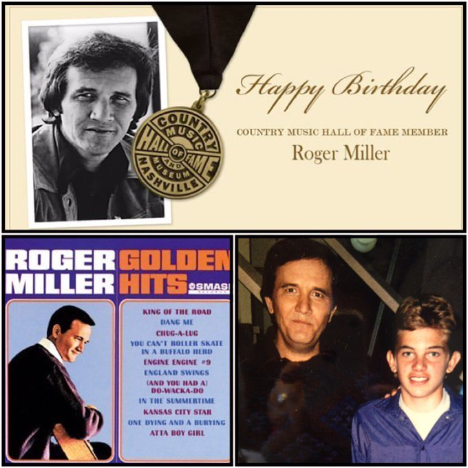 Happy Birthday to CMHOF member  Roger Miller!
