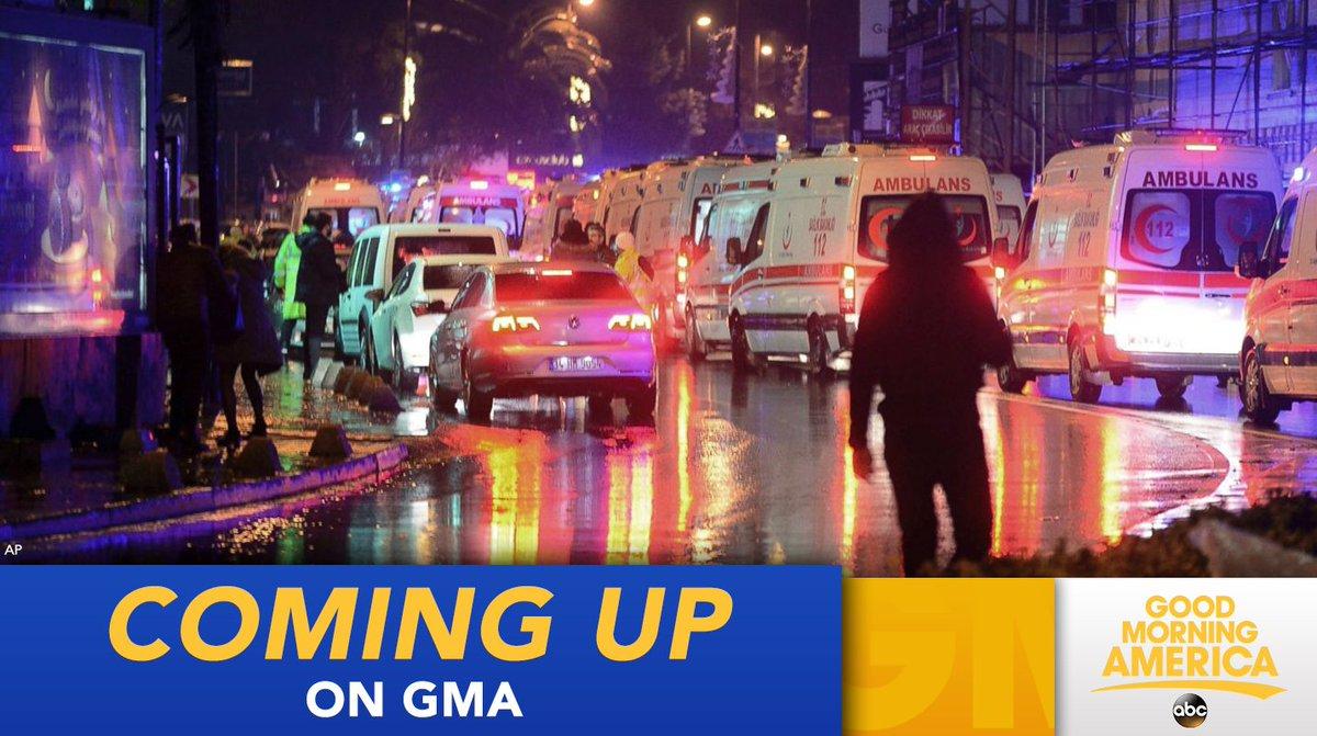 ON @GMA: Terror manhunt underway in Turkey after shooter kills 39 at Istanbul nightclub:
