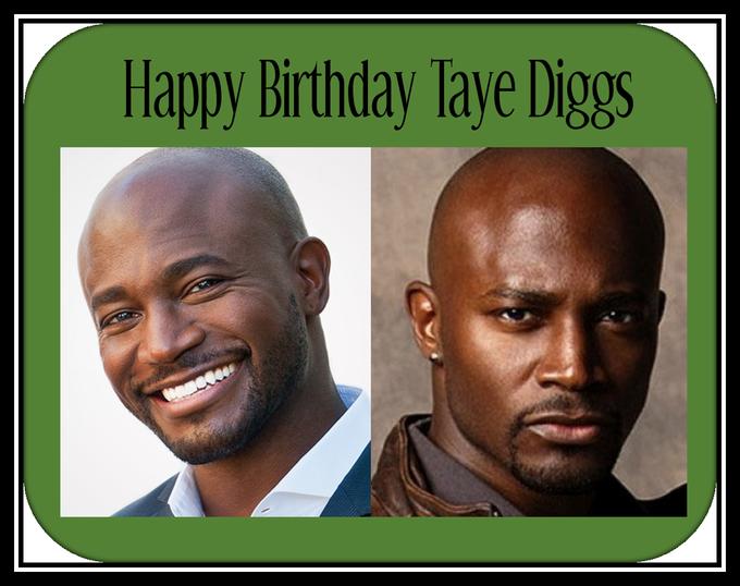 Happy Birthday Taye Diggs