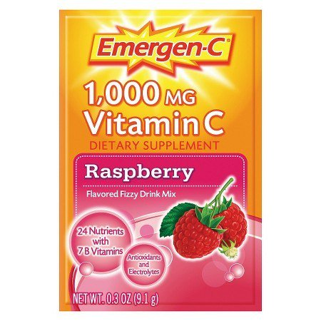 Free Emergen C Original and Raspberry Sample freebies