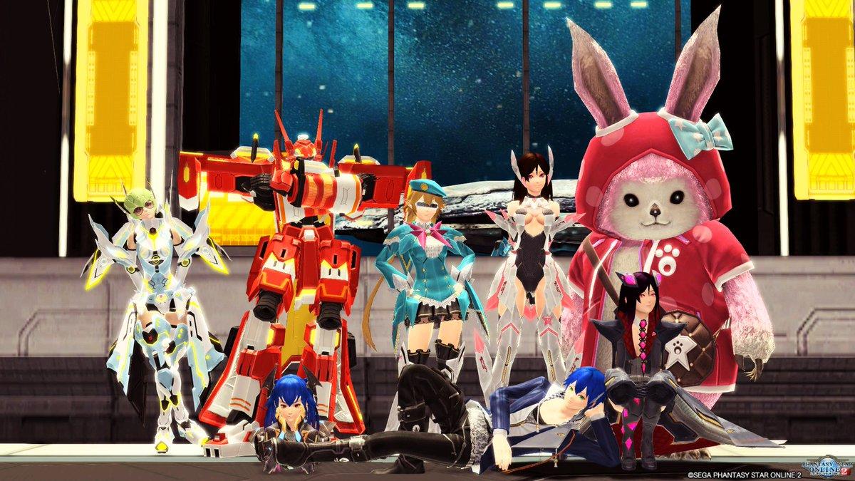 PSO2アニメ集会にてSSをアップいたします。#PSO2アニメ集会#泉澄リナ集会