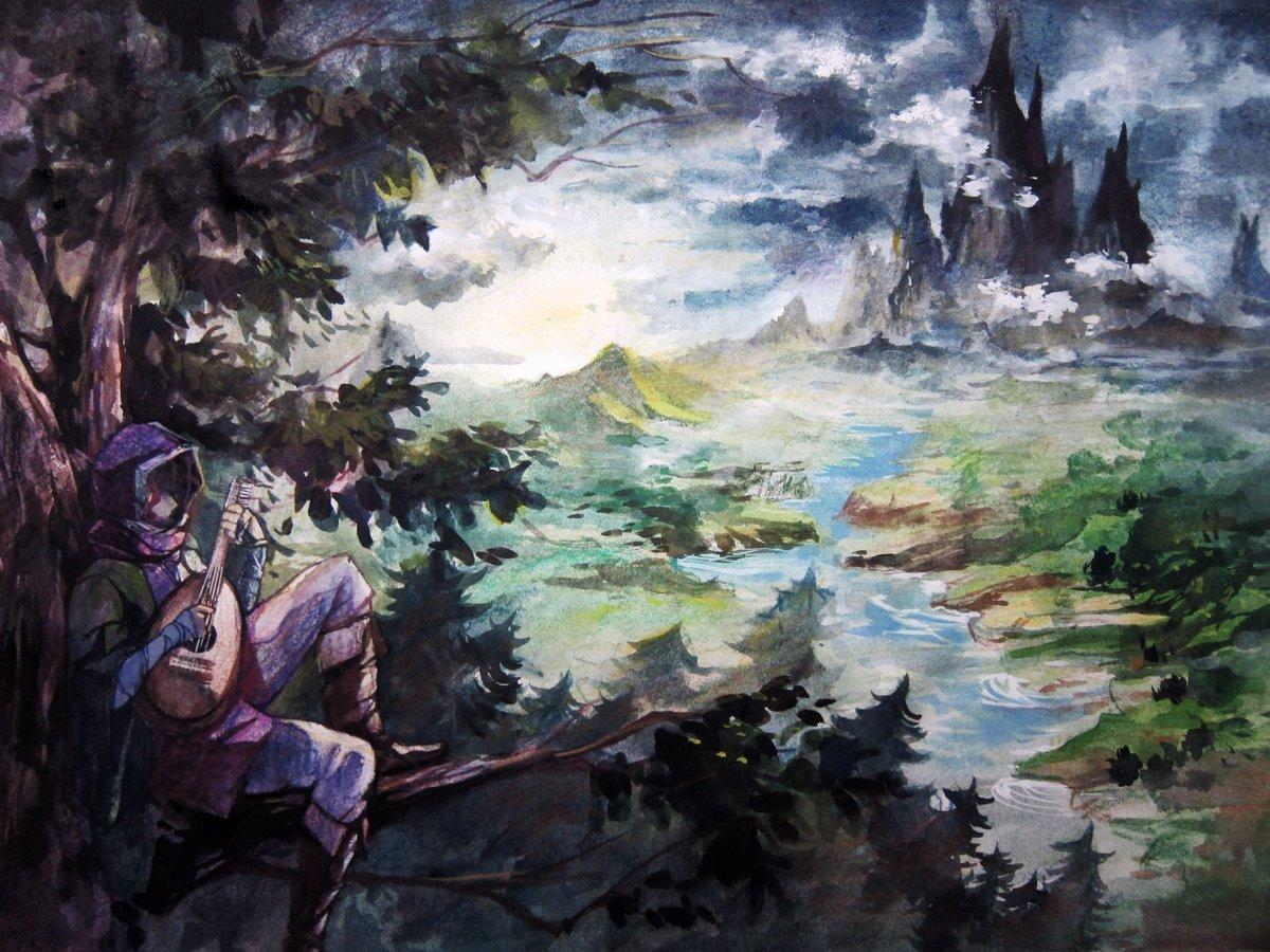 ギーヴとデマヴァンド山#Arslan