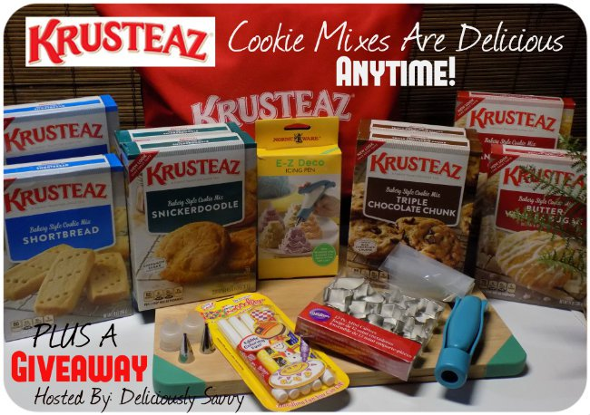 Krusteaz Cookie Mix and More #Giveaway