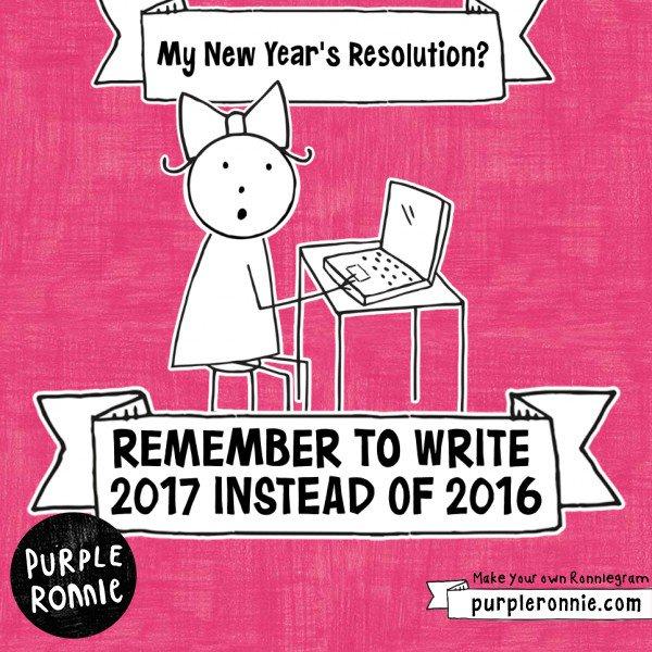 #NewYearsResolution: New Years Resolution