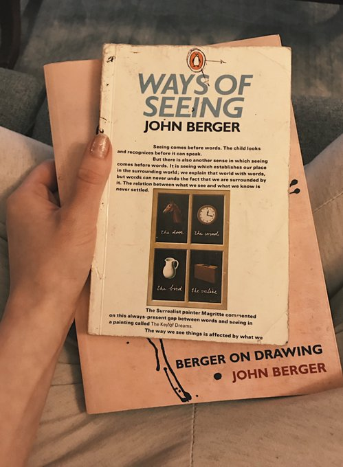 1 pic. If you haven't read John Berger yet now is a great time to start. https://t.co/0rhW6qupQs