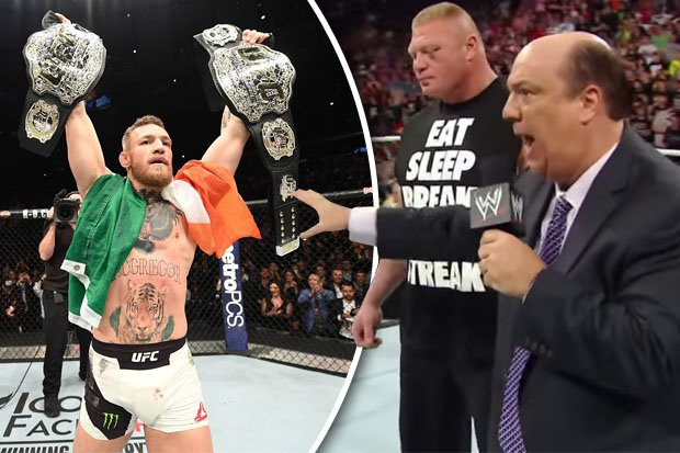Conor McGregor in WWE? Paul Heyman ready to manage second UFC star https://t.co/dyJ2dgyKBP https://t.co/hech0I0AHR