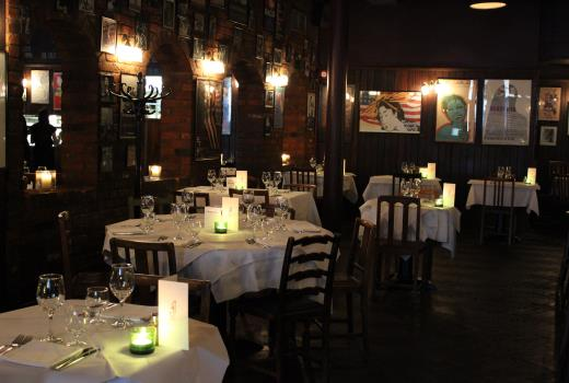 Joe Allen London's best place for your Christmas party