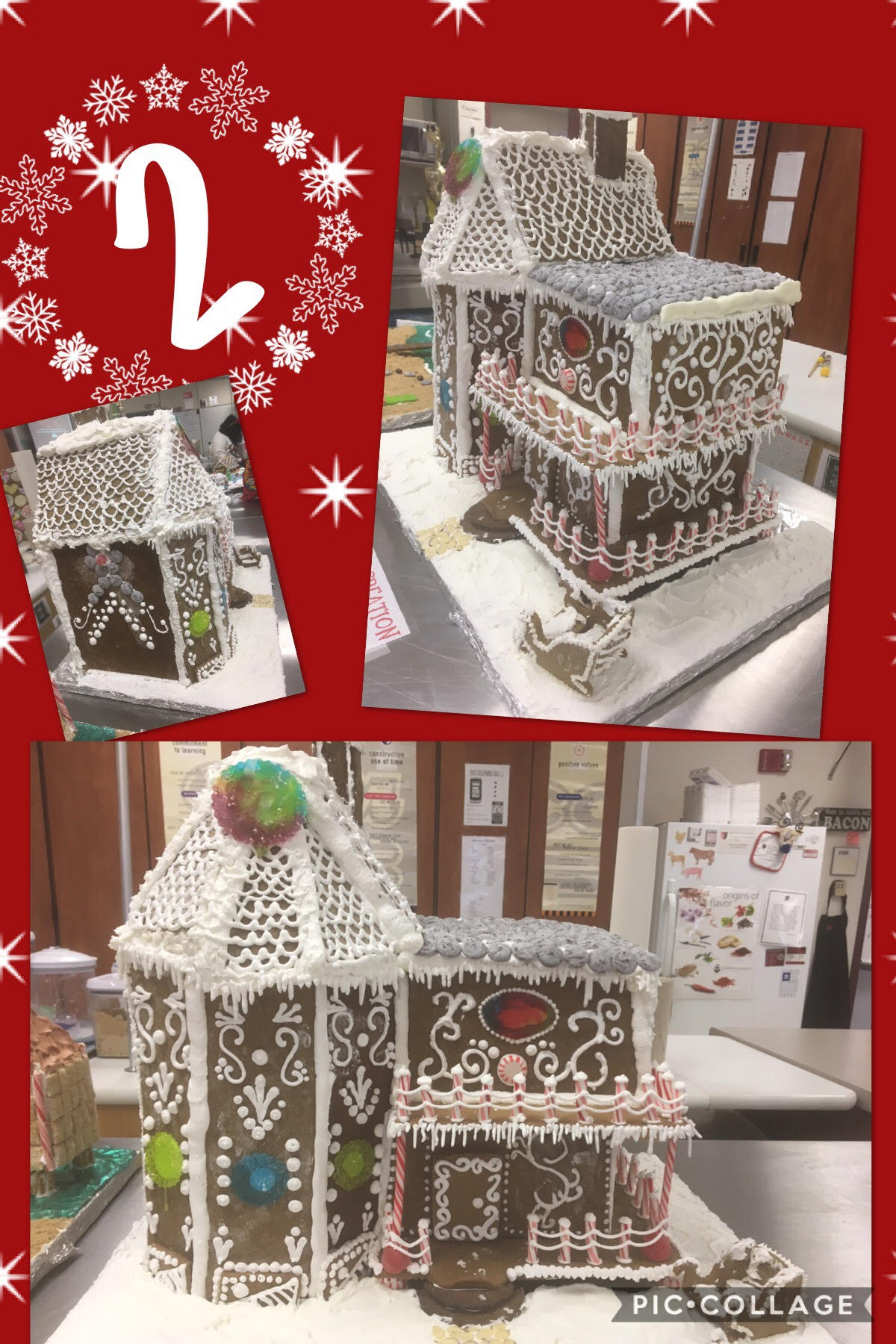 Congrats Maddie Fullerton, Emily Jerovetz, Caitlyn Mattmiller & Autumn Wood- Winners of 2016 Gingerbread Creations! #RaiderStrong @PCSD_PHS https://t.co/HR5kaV76lP