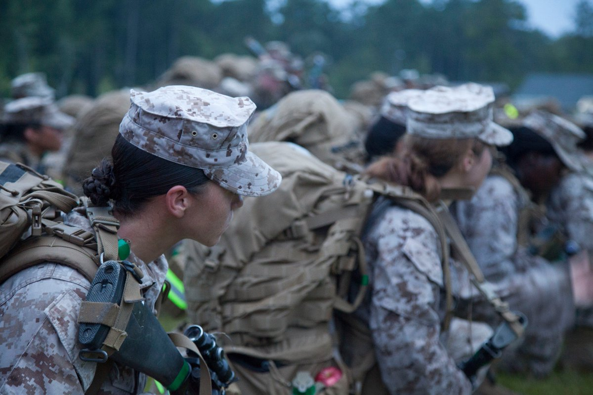 First female infantry Marines joining battalion on Thursday https://t.co/aUSYmFpC6y https://t.co/eIEhMC9Y3R