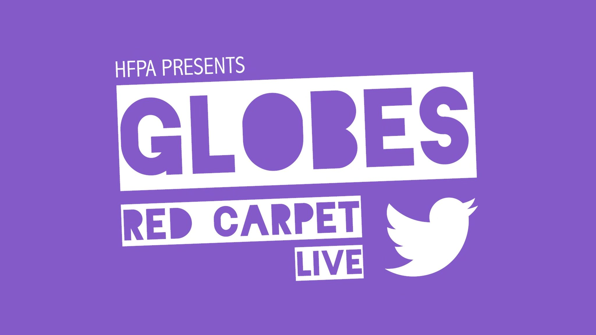 Walk the red carpet, wherever you are.  Watch the #GoldenGlobes Red Carpet LIVE right here on Twitter! https://t.co/mcCZ9S04ga