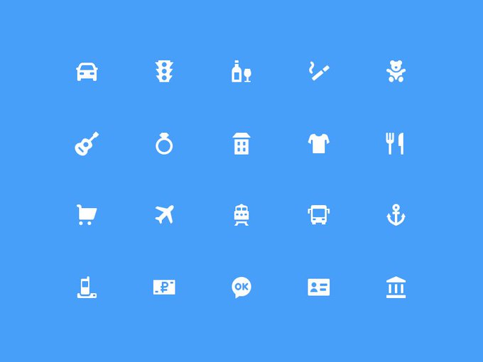 75 Banking Icons Freebie
