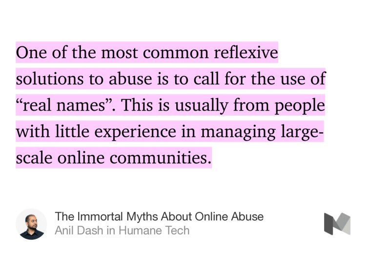 See also: the immortal myths of online abuse. https://t.co/H6fpedbcHz https://t.co/6JhwsWH3Gh
