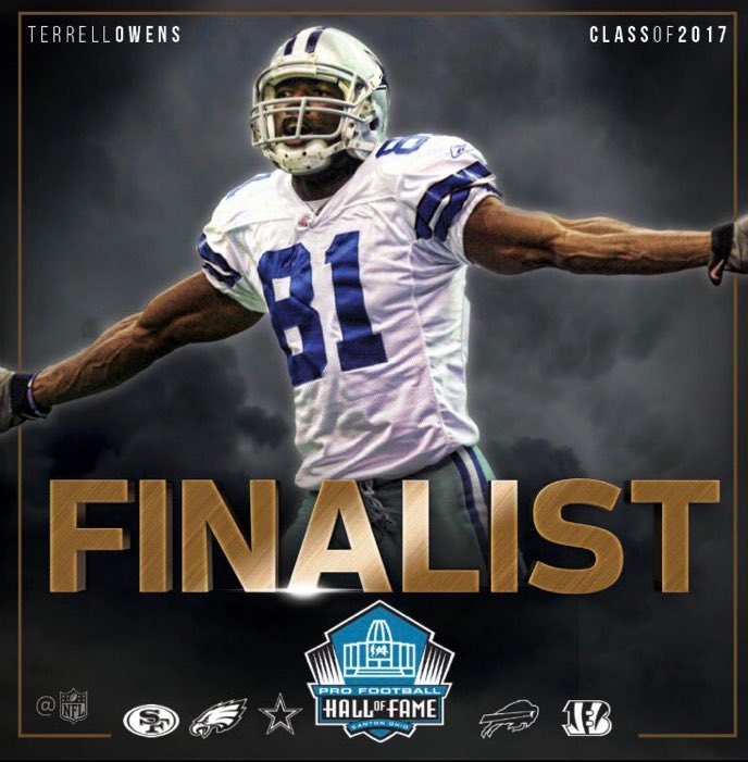 Happy to announce that I'm a Hall of Fame finalist this year! Thanks for all the support!