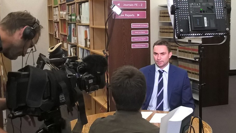 Pre-record for an @abc730 story on Centrelink data-matching tonight. The story continues to grow as more emerges. #notmydebt @VicLegalAid https://t.co/BodTBt5ecR