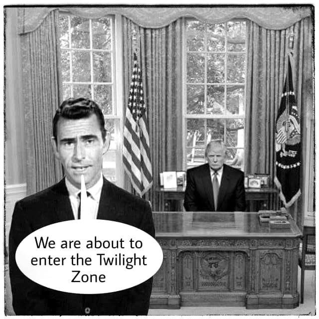 Welcome to Twilight Zone. I wish it was just a show. https://t.co/unMuVyfPC4