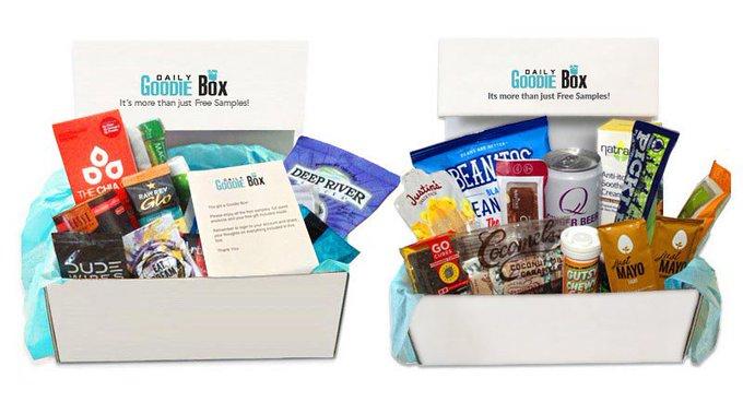 FREE Daily Goodie Box  freebies
