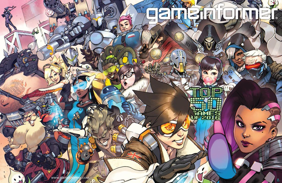 February Cover Revealed – The Top 50 Games Of 2016 https://t.co/8Ld0y1V7s0 https://t.co/O53fKI2Cjv
