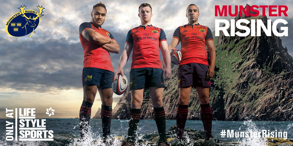 This Club is on the Rise. Restoring pride and passion throughout the province. #MunsterRising #R92vMUN https://t.co/30wSj93hBd