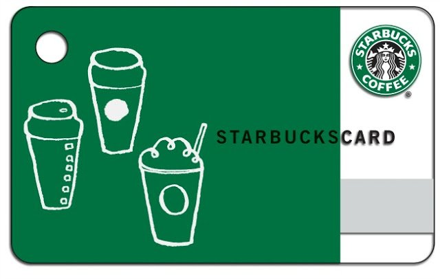 $25 Starbucks Giveaway