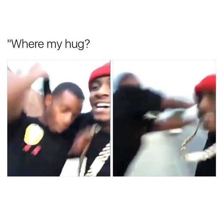 If my girl ain't curving niggas like this I'm cool on her ✌