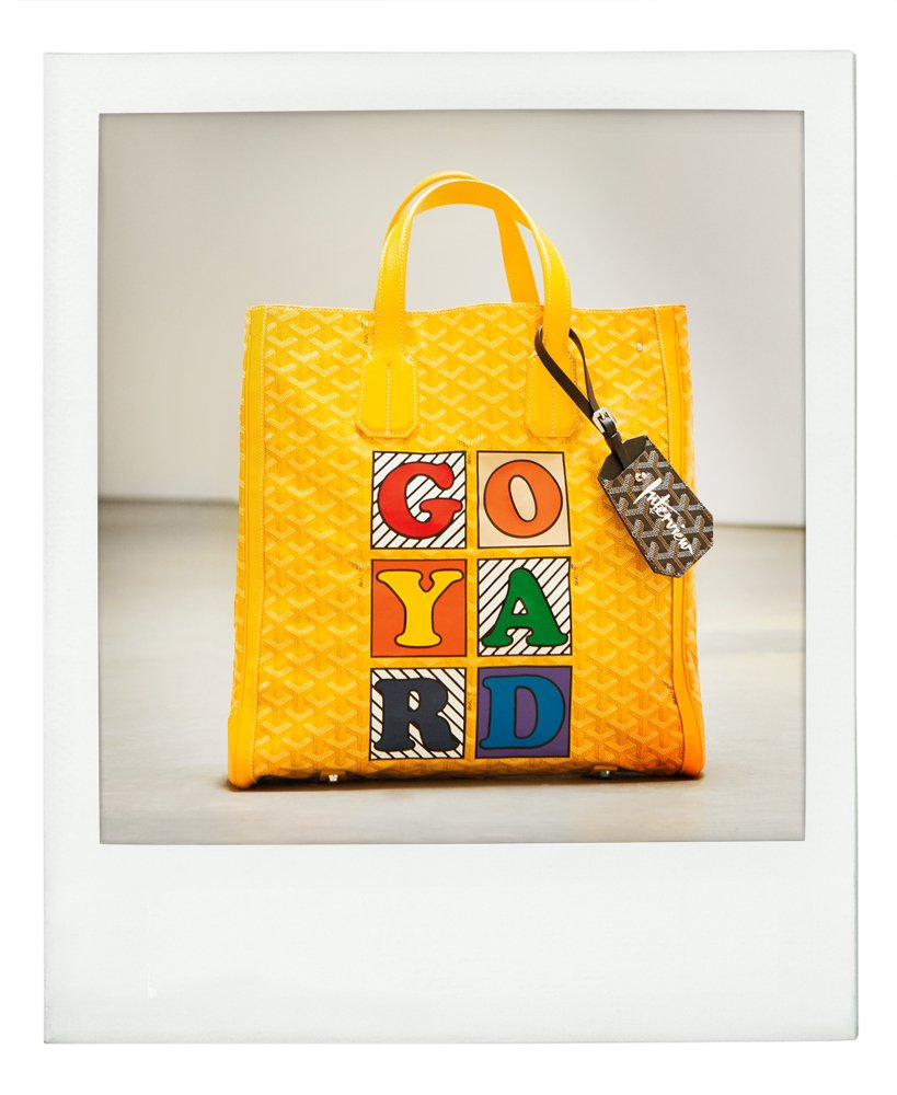 RT @InterviewMag: .@Goyard channels Andy for this month's #AndysCandy. https://t.co/C8QaY3eb5I https://t.co/hnSkp0sSAz