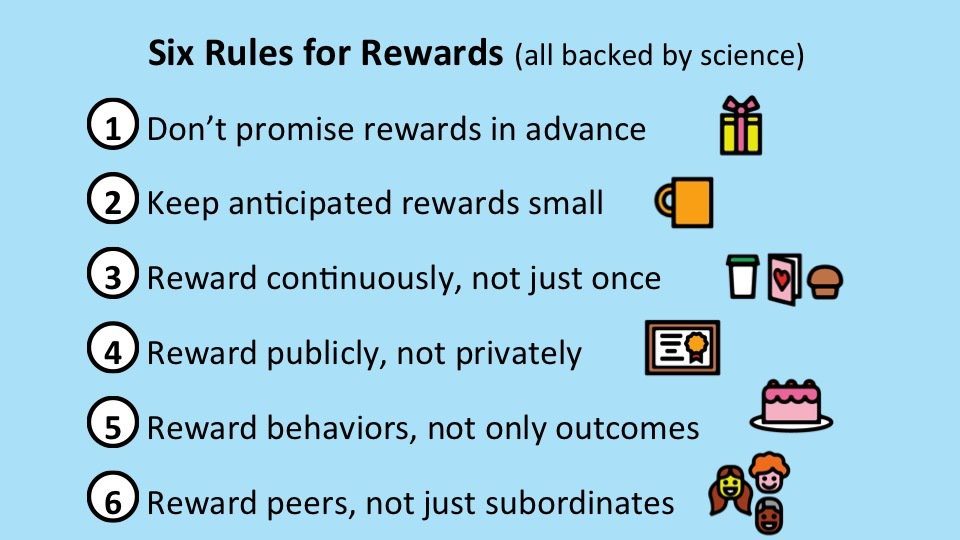 Are you looking for better ways to reward employees? Check out the 6 rules for rewards! https://t.co/iG6afp3qnS https://t.co/JCFVWQ534C