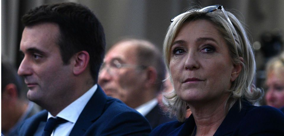 Ukraine considers banning Marine Le Pen over her comments on Crimea.