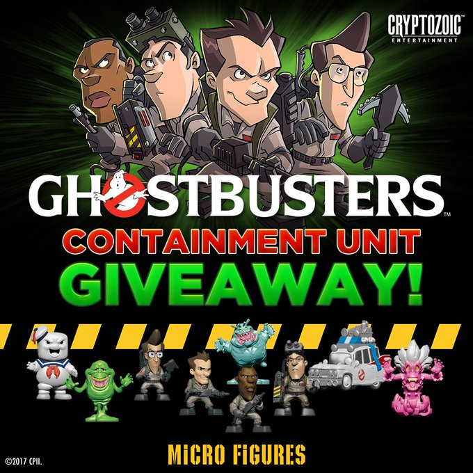 Ghostbusters Containment Unit Giveaway