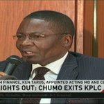 Lights out; Chumo exits KPLC