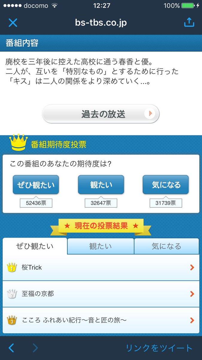 5万票超えてて草#桜Trick
