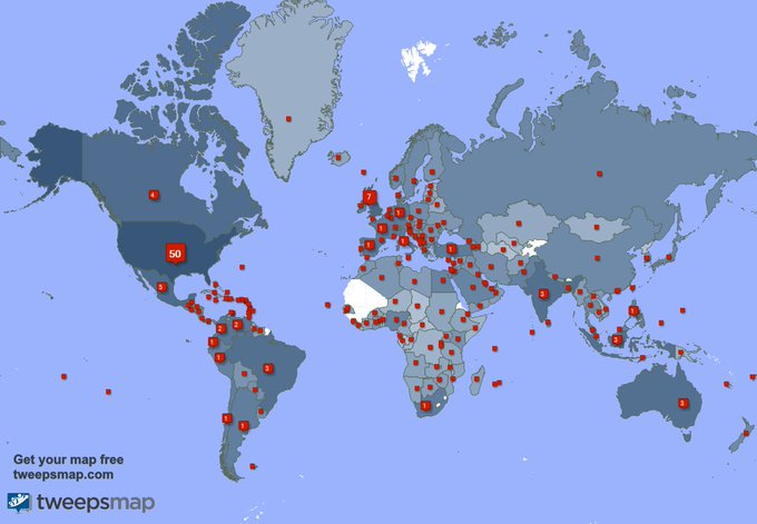 I have 657 new followers from USA, Spain, Australia, and more last week. See https://t.co/Rw9AAvUybD