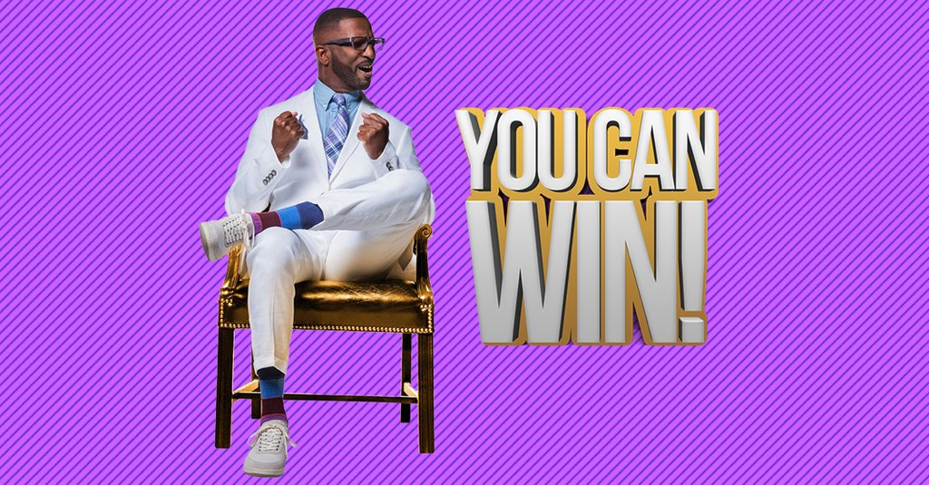 RickeySmiley : Time to win some