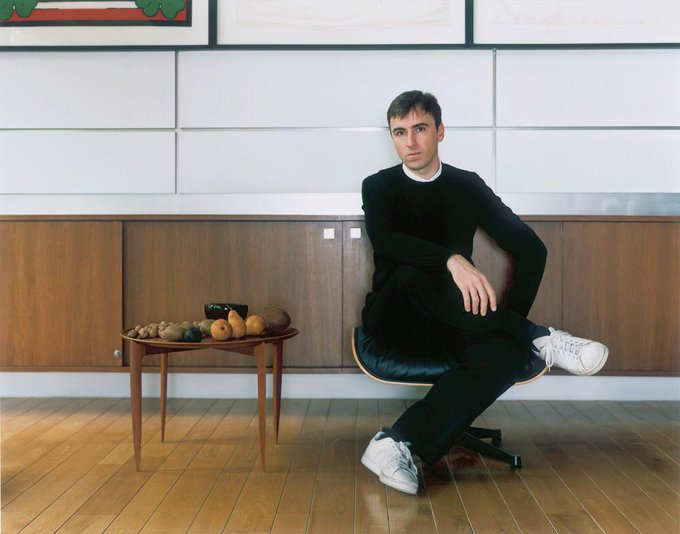 Happy Birthday to my Dad, Raf Simons. Can\t wait for your debut at CK next month.