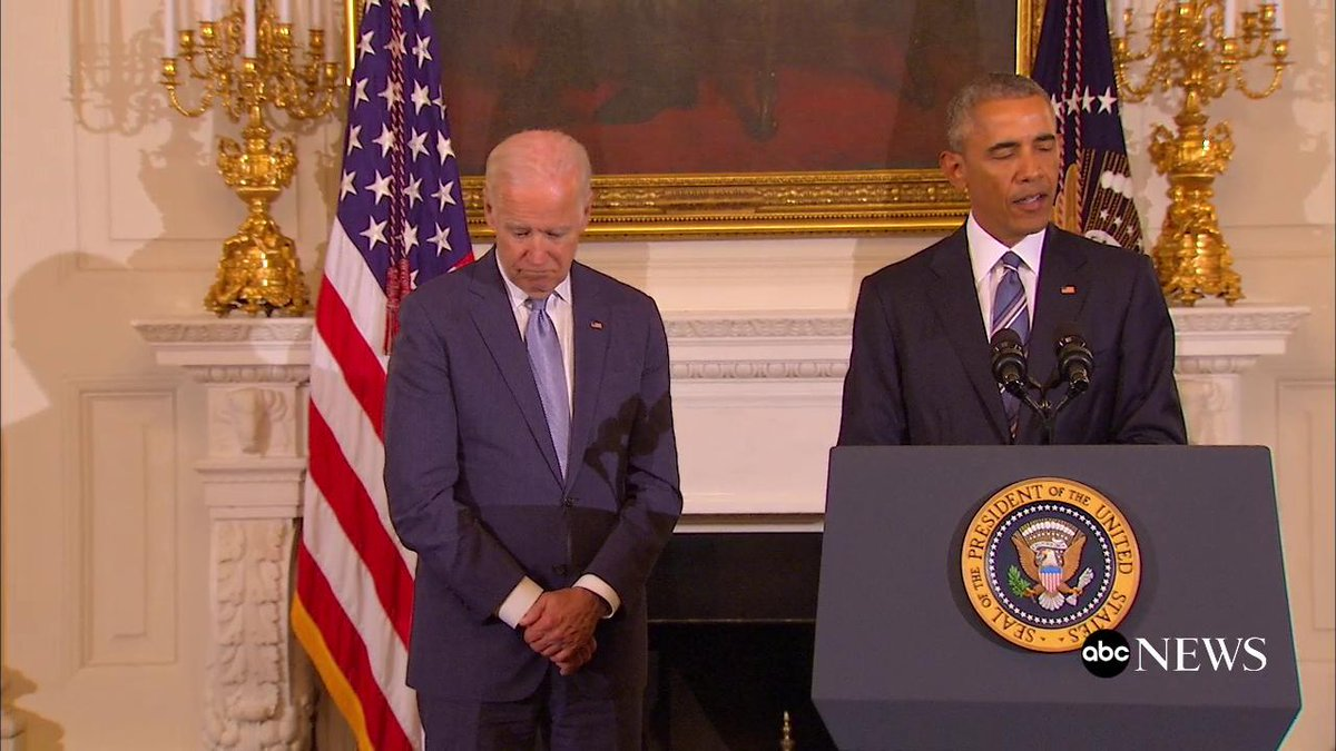President Obama gives his final Presidential Medal of Freedom, the highest civilian honor, to Vice President Biden