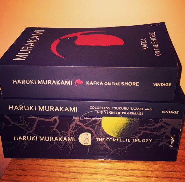 Happy birthday to Haruki Murakami who\s a powerhouse of a writer. Love and respect from Jordan.