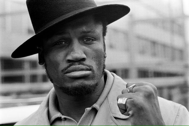 Happy Birthday the toughest opponent LEGEND - \Smoking\ Joe Frazier