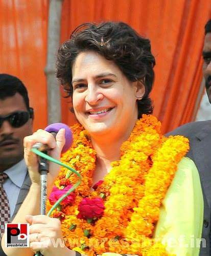 . Wish you very very very Happy birthday Priyanka Gandhi ji.
