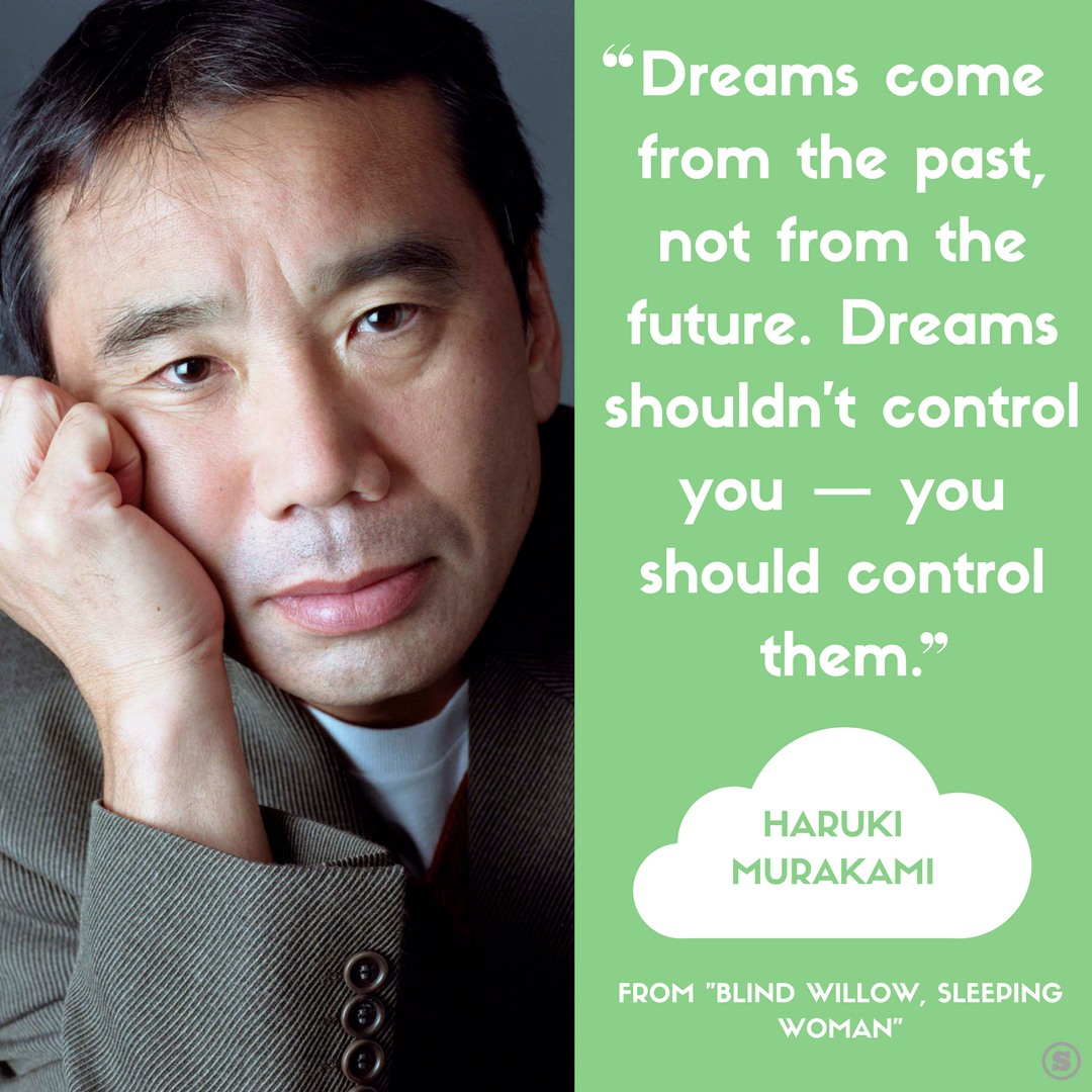 Happy 68th birthday Haruki Murakami! Celebrate with a few of his best quotes