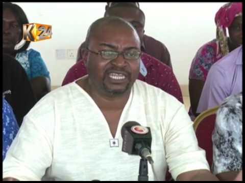 Kilifi ODM Branch members call for a free, fair exercise
