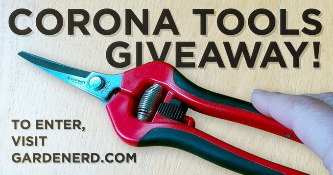 Giveaway: Corona Snips and Gardening for Geeks