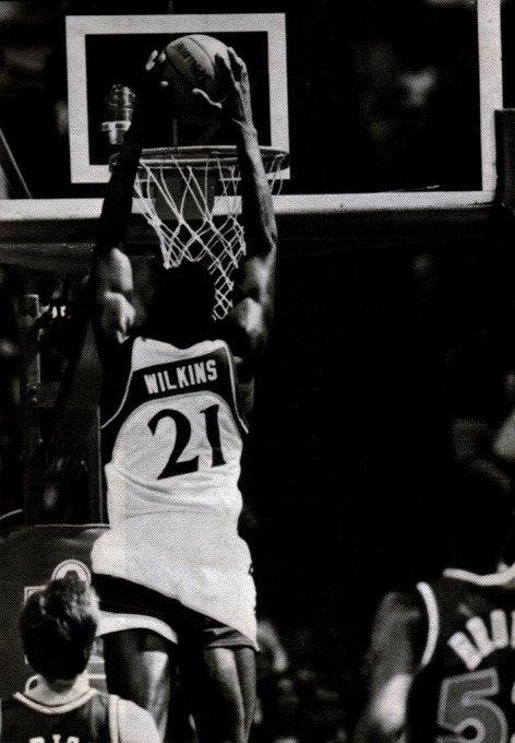 Completando 57 anos hoje, um dos jogadores mais espetaculares da história, Happy Birthday Dominique Wilkins